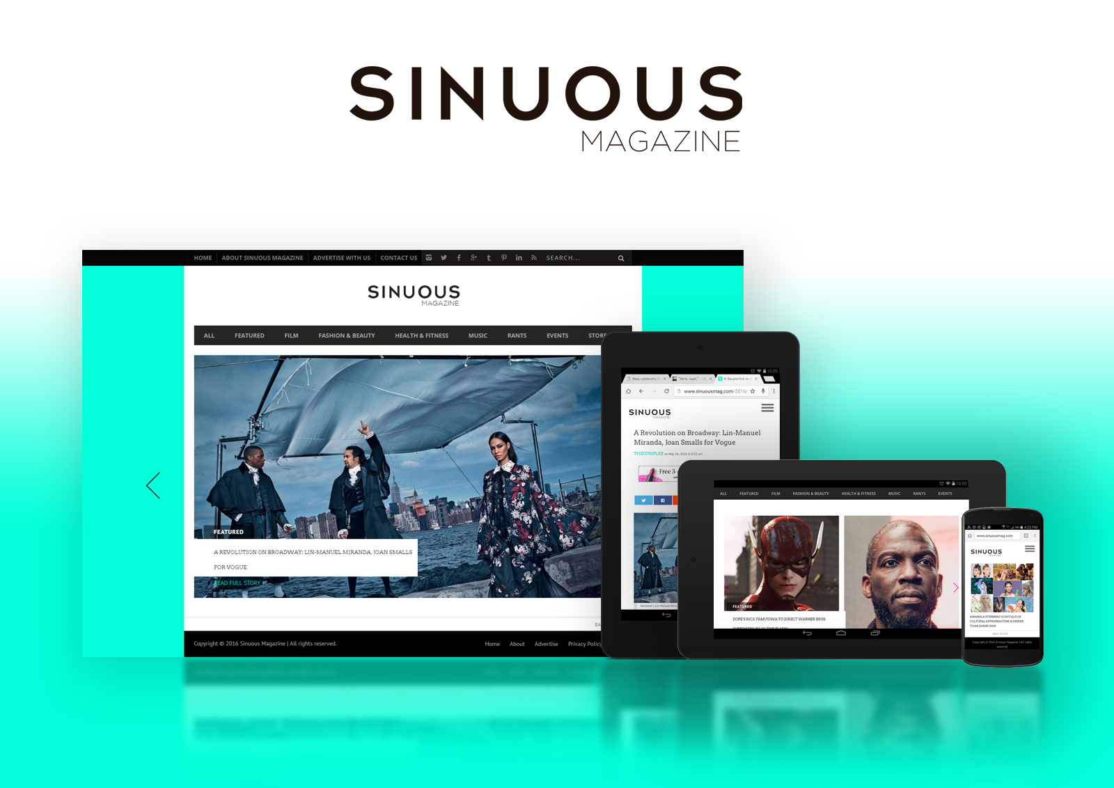Sinuous Magazine Design 2016