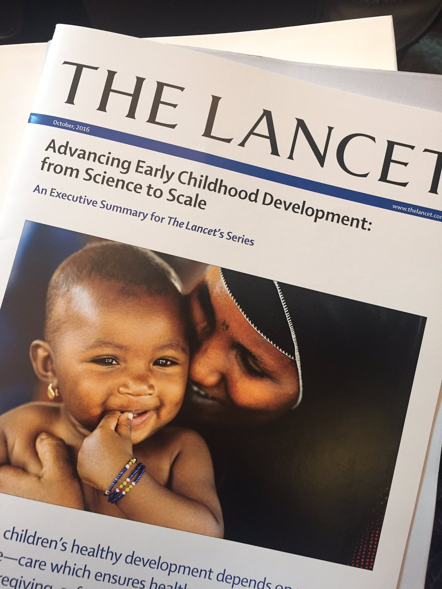 Photo of a Medical Journal's Early Childhood Development series