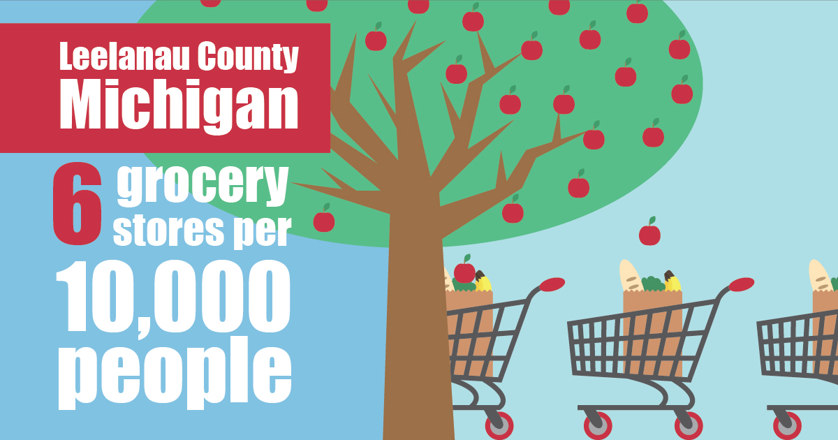 Social Graphic for South East Michigan Food Insecurity