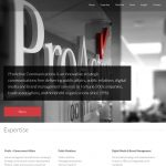 Creative Direction & Project Management for Communications Firm Website Redesign