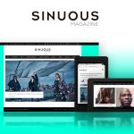 Creative Direction & Website Redesign for Sinuous Magazine