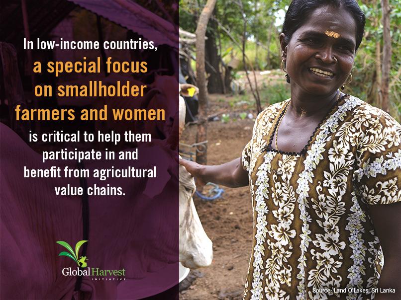 <p>Small Farmers & Women</p>