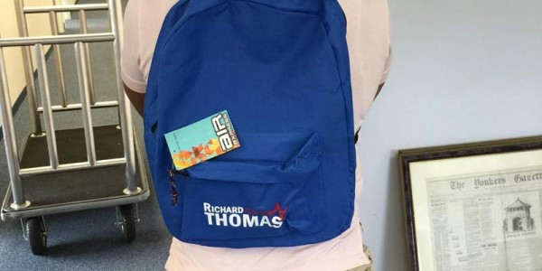 Mayoral Campaign Bookbag