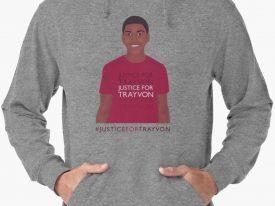 """Justice For Trayvon"" Lightweight Hoodies"