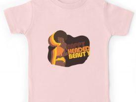 """""""Nappy Headed Beauty"""" Kid's T-Shirt"""
