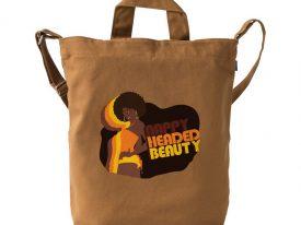 """Nappy Headed Beauty"" x BAGGU Duck Bag"