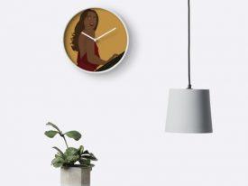 """Pure Elegance"" Bamboo-Frame Clocks"