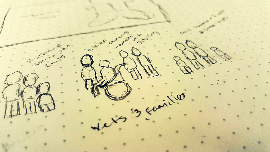 Veterans Day Sketch - Concept 3