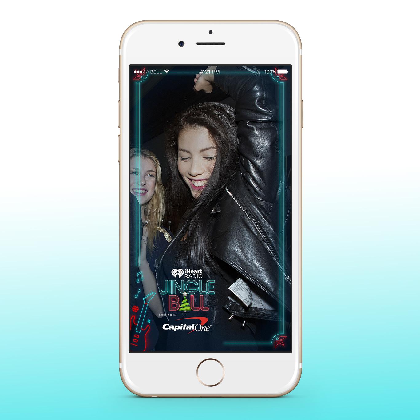 iHeart Jingle Ball Snapchat Filters - Final