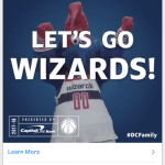 Art Direction, Video Editing & Animation for Capitals & Wizards Social Contest Ads