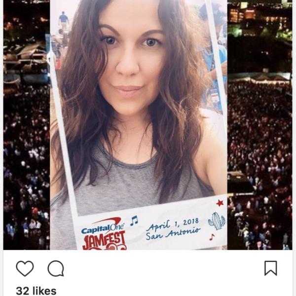 JamFest San Antonio - Snapchat Filteron @lorineliz's Instagram