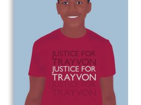 """""""Justice For Trayvon"""" Canvas Prints"""