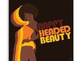 """""""Nappy Headed Beauty"""" Canvas Prints"""