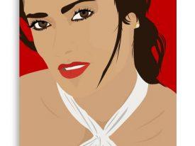 """""""Salma"""" Canvas Prints"""